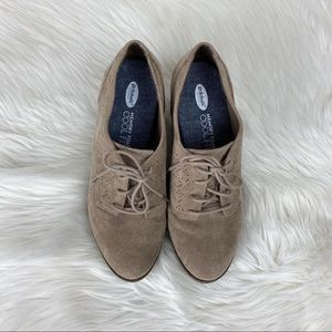 Dr. Scholl's Shoes - Dr. Scholl's Oxford Suede Heel  Shoes Size 6.5